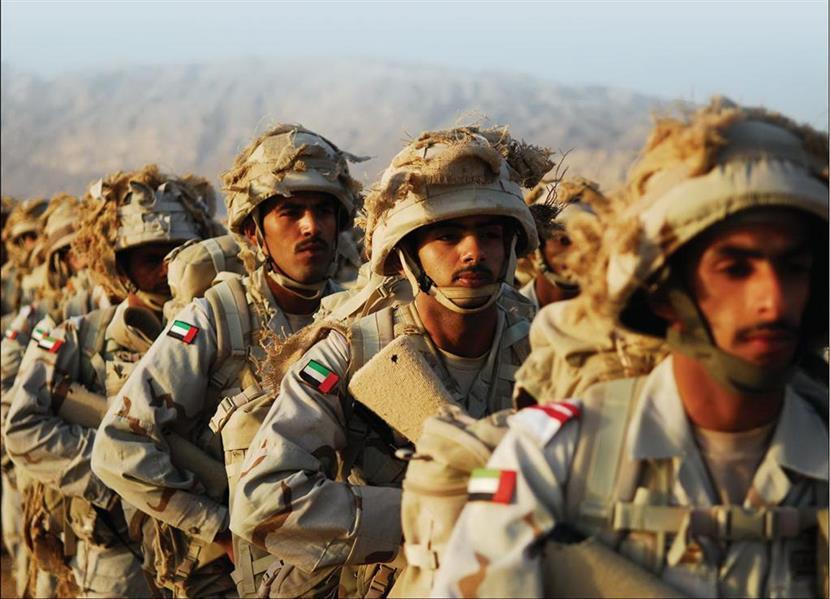 استشهاد جندي إماراتي بمنطقة نجران ضمن القوات المشاركة في حرب اليمن