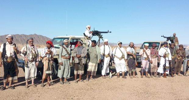 بعد اختطاف أحد أفرادها مع عائلته ....قبيلة يمنية توجه لـ