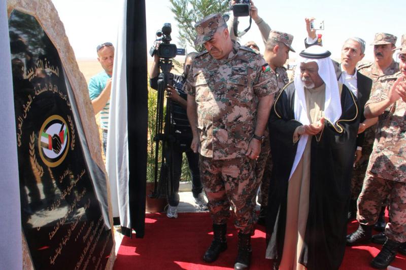 الشيخ خليفة يهدي الأردن مشروع المدينة التدريبية