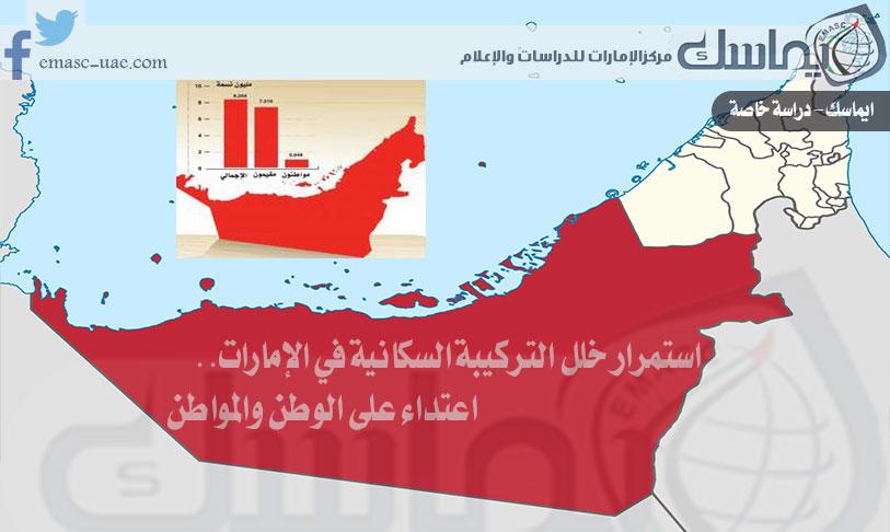 استمرار خلل التركيبة السكانية في الإمارات.. اعتداء على الوطن والمواطن (دراسة)