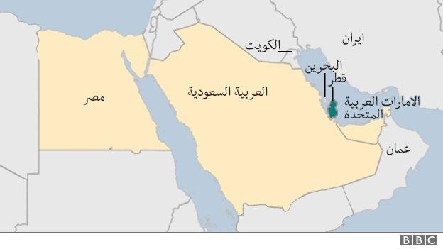 تصعيد جديد.. الإمارات تحذف قطر من خارطة الخليج في اللوفر
