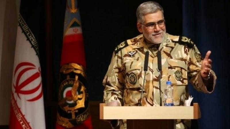قائد عسكري إيراني : نعرف ما يجري في القواعد العسكرية للإمارات والسعودية وقطر والأردن