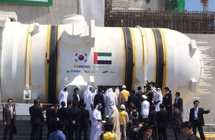 بدء تشغيل المفاعل النووي في الإمارات بانتظار نتيجة مراجعات جديدة