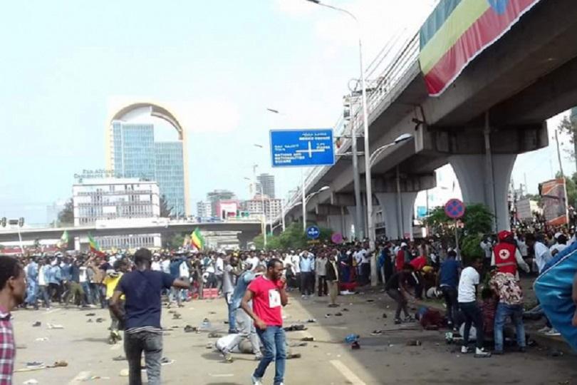 الإمارات تدين التفجير الذي استهدف رئيس الوزراء الأثيوبي  في أديس أبابا