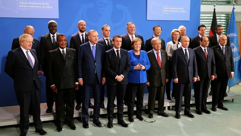 بمشاركة الإمارات..مؤتمر برلين يدعو لاستبعاد الخيار العسكري في ليبيا واحترام حظر ارسال الاسلحة