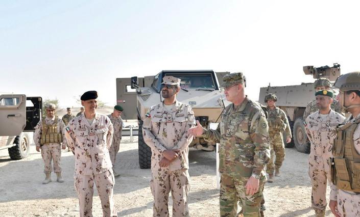 انطلاق التمرين العسكري المشترك