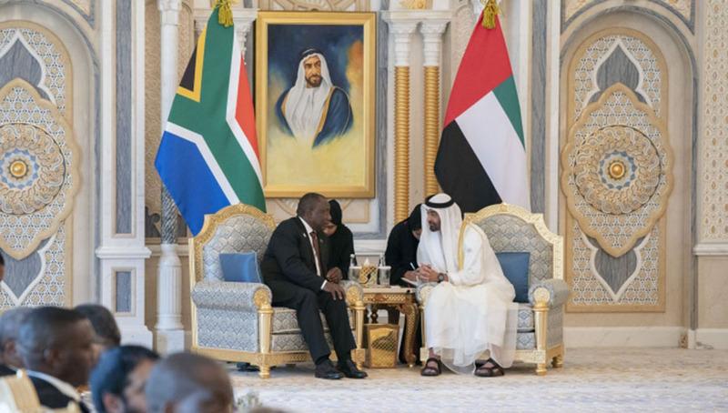 الإمارات تتعهد باستثمار 10 مليارات دولار في جنوب أفريقيا