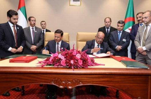 انعقاد الاجتماع الوزاري للجنة المشتركة بين الإمارات والجزائر