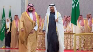 محمد بن زايد يؤكد لبن سلمان وقوف الإمارات إلى جانب السعودية ضد التهديدات