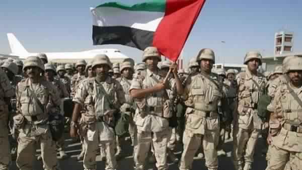 الجيش الإماراتي يؤكد عزمه على تصفية