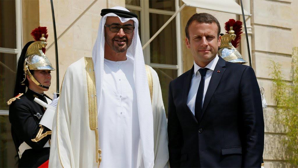 محمد بن زايد يلغي زيارة كانت مقررة إلى فرنسا الثلاثاء