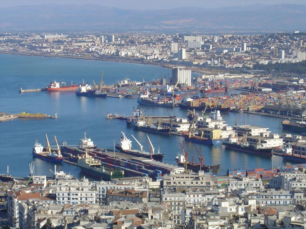 إضراب العمال يوقف حركة ميناء تديره الإمارات في الجزائر