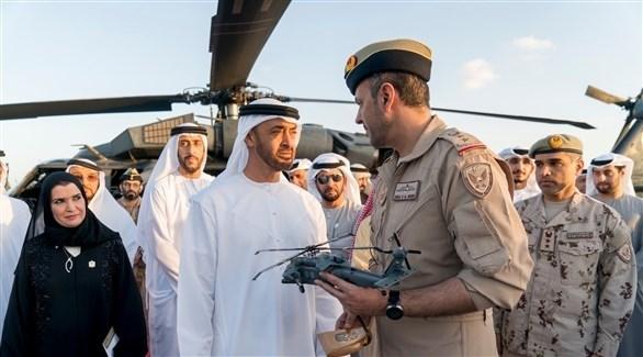 محمد بن زايد يدشن منظومة تسليح «بلاك هوك» الإمريكية التي طورتها الإمارات
