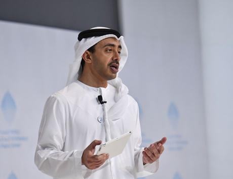 عبدالله بن زايد :إعادة سفيرنا إلى سوريا يهدف لإعادتها إلى حضنها العربي