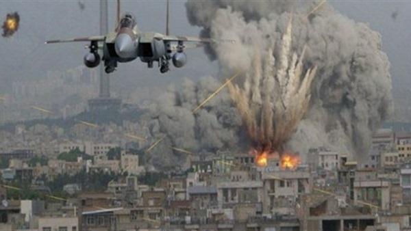المقاتلات السعودية و الإماراتية تنفذ 11 غارة على مواقع حوثية شمال اليمن