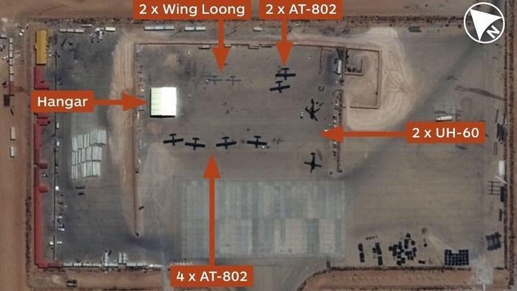 حجم القوات الجوية الإماراتية الموجودة في ليبيا