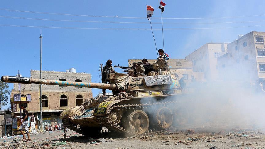 تجدد المواجهات في تعز والقوات اليمنية تتقدم