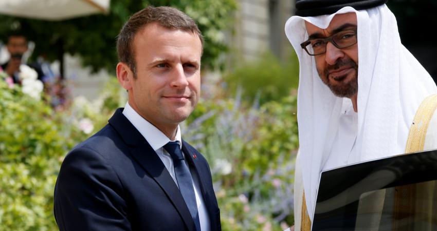 ماكرون يدافع عن صفقة الأسلحة للسعودية والإمارات رغم حرب اليمن