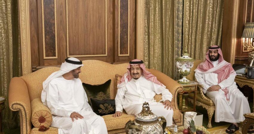 محمد بن زايد يزور الرياض ويلتقي الملك سلمان وولي عهده