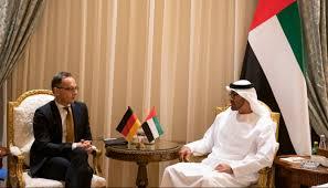 محمد بن زايد ووزير الخارجية الألماني يبحثان تطورات المنطقة