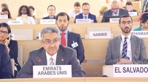 الإمارات تؤكد دعم الحل السياسي لإنهاء أزمة السورية