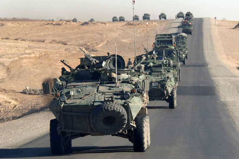 """""""واشنطن"""" تعلق صفقة بيع مدرعات عسكرية للامارات بسبب اليمن"""