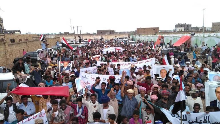 مظاهرات في سقطرى اليمنية تتهم أبوظبي بدعم الفوضى ونشر الفتنة