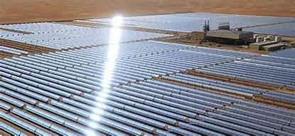 أبوظبي تبدأ تشغيل أكبر محطة للطاقة الشمسية في العالم