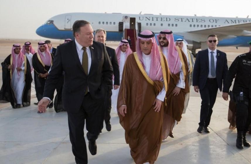 بومبيو  يبحث مع وزراء خارجية الخليج والأردن ومصر إنشاء تحالف إقليمي لمواجهة إيران