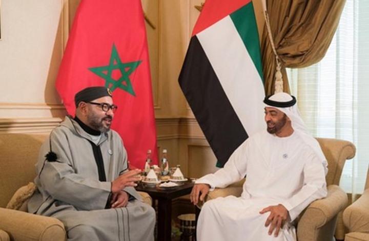 وسط استمرار حالة التوتر بين البلدين...ملك المغرب يهاتف محمد بن زايد
