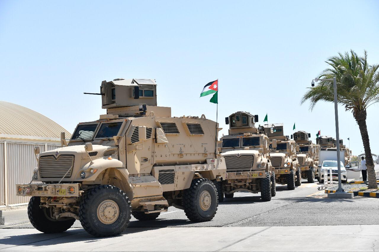 قوات أردنية تصل أبوظبي للمشاركة في تمرين