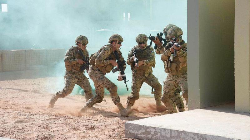 انطلاق تمرين «الثوابت القوية/ 1» العسكري المشترك بين الإمارات والأردن