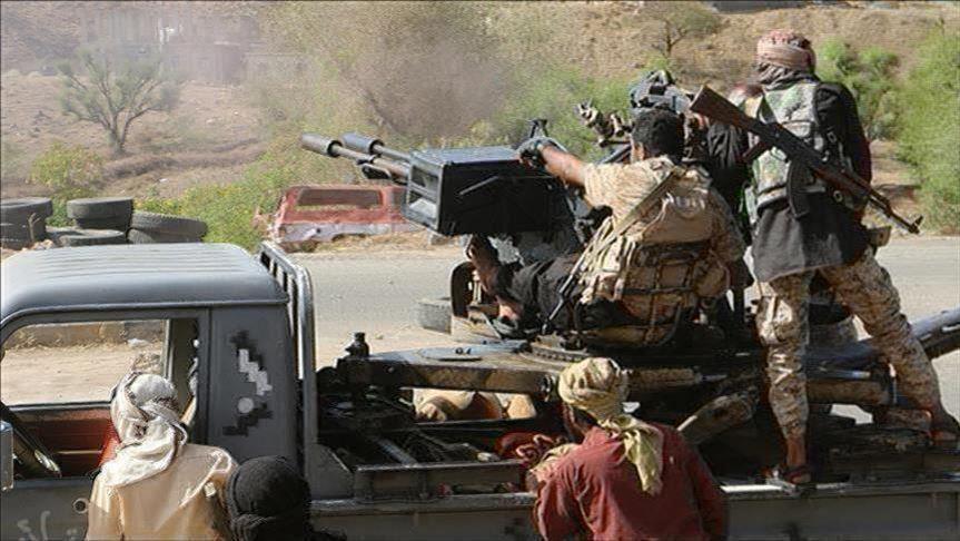 اشتباكات بين قوات مدعومة سعوديا وأخرى إماراتيا بمحافظة لحج في اليمن